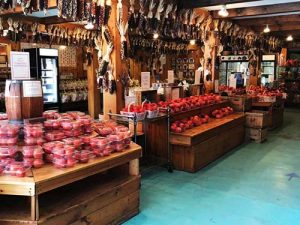 Big Apple Farm stand Interior